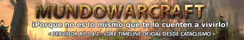 MundoWarCraft - Servidor De Rol (MoP 5.4.2)